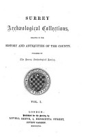 Surrey Archaeological Collections PDF