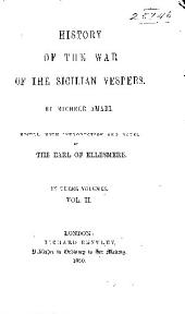 History of the war of the Sicilian vespers: Volume 2