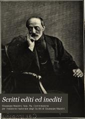 Scritti editi ed inediti: Volume 1