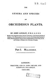 The Genera and Species of Orchideous Plants: Malaxideae
