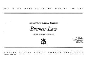 Business Law PDF