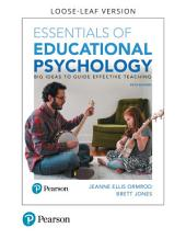 Essentials of Educational Psychology: Big Ideas To Guide Effective Teaching, Edition 5