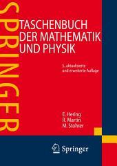 Taschenbuch der Mathematik und Physik: Ausgabe 5