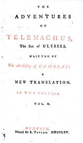 The Adventures of Telemachus, the Son of Ulysses: Volume 2