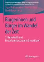 B  rgerinnen und B  rger im Wandel der Zeit PDF