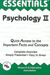 The Essentials of Psychology Book