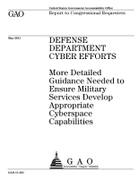 Defense Department Cyberefforts PDF