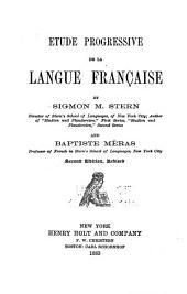 Étude progressive de la langue française