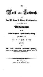 Die Noth  oder Jachtaufe und der Akt ihrer kirchlichen Confirmation PDF