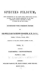 Species Filicum: Gleichenia