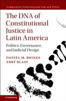 The DNA of Constitutional Justice in Latin America PDF