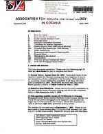 Association for Social Anthropology in Oceania Newsletter PDF