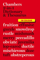 Chambers 2 in 1 Dictionary   Thesaurus PDF