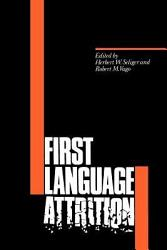 First Language Attrition Book PDF