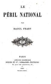 Le péril national