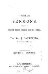 Twelve sermons: Volume 8
