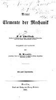 Neue Elemente der Mechanik PDF
