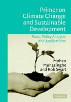Primer on Climate Change and Sustainable Development PDF