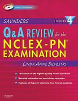 Saunders Q   A Review for the NCLEX PN   Examination E Book PDF