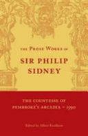 The Countesse of Pembroke's 'Arcadia':