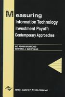 Measuring Information Technology Investment Payoff PDF