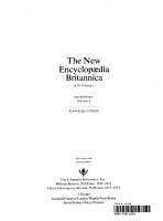 The New Encyclopaedia Britannica PDF