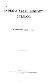 Catalog: Supplement, October 1, 1906