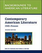 Contemporary American Literature, 1945 - Present