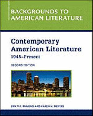 Contemporary American Literature  1945   Present PDF