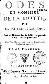 Oeuvres d'Antoine Houdar de La Motte