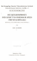 Die Metamorphosen der Liebe und Friedrich Spees  Trutznachtigall   PDF