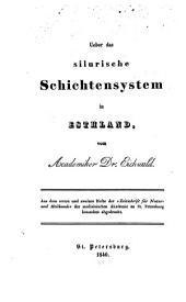 Ueber das silurische Schichtensystem in Esthland
