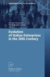 Evolution of Italian Enterprises in the 20th Century