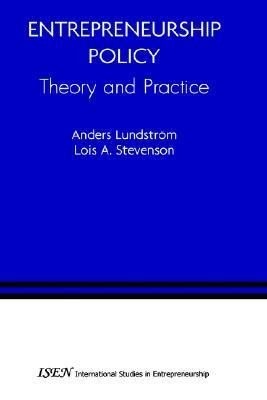 Entrepreneurship Policy  Theory and Practice PDF