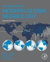 Foundations of Modern Global Seismology PDF