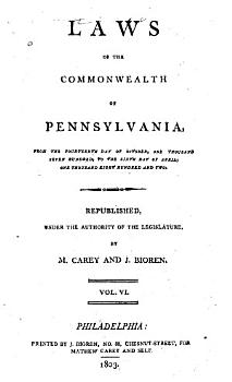 Laws of the Commonwealth of Pennsylvania   Apr  4  1799 Apr  6  1802 PDF