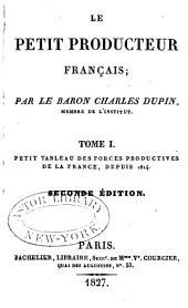 Le petit Producteur Français: Volumes1à3