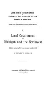 Local Government in Michigan and the North-West