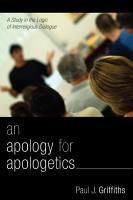 An Apology for Apologetics PDF