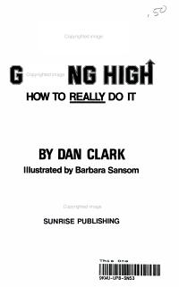 Getting High PDF