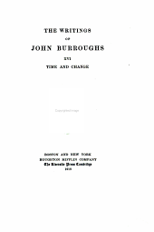 The Writings of John Burroughs: Volume 16