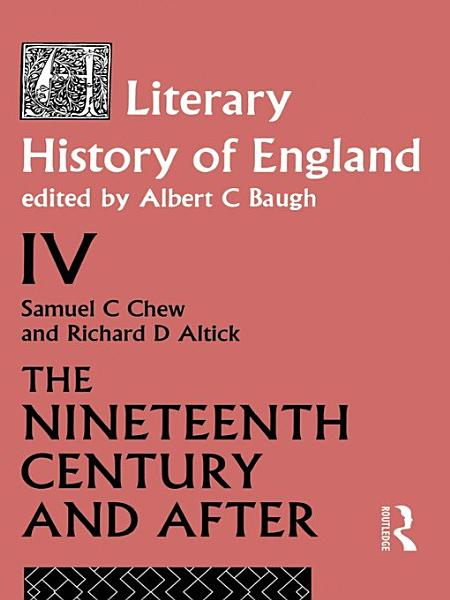 Download A Literary History of England Book