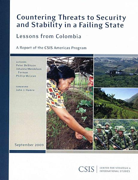 Countering Threats To Security And Stability In A Failing State