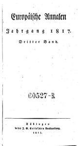Europäische Annalen von Ernst Ludwig Posselt