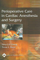 Perioperative Care in Cardiac Anesthesia and Surgery
