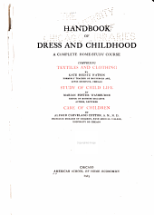 Handbook of Dress and Childhood: A Complete Home-study Course