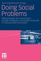 Doing Social Problems PDF