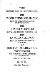 Joan. Antonii Scopoli ... Fundamenta botanica praelectionibus publicis accommodata