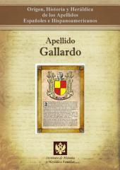 Apellido Gallardo: Origen, Historia y heráldica de los Apellidos Españoles e Hispanoamericanos