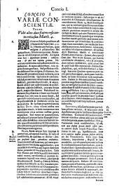 Concionum opus tripartitum: Volume 1